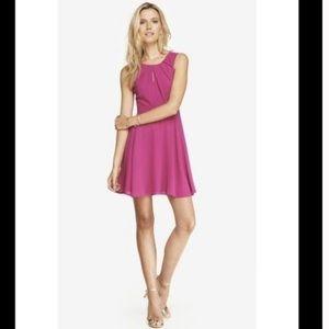 Express Pink Keyhole Dress Size 6